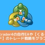 Metatrader4の自作EAや【くるくるワイド】のトレード戦略をmyfxbookで客観的に把握してみよう